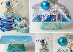 DIY Gift Basket Ideas - Cookies and Candy - Click pic for 25 DIY Christmas Gift Ideas