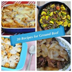 30 Family Favorite Recipes for Ground Beef