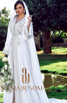 Caftan Morrocco Jellaba Caftan D'or Morrocan Wedding Dress, Morrocan Dress, Kaftan Moroccan, Elegant Wedding Gowns, Classic Wedding Dress, Wedding Dresses, Oriental Dress, Caftan Dress, Special Dresses