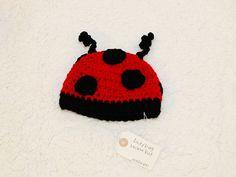 ladybug beanie hat $15