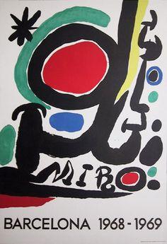 Joan Miro Poster