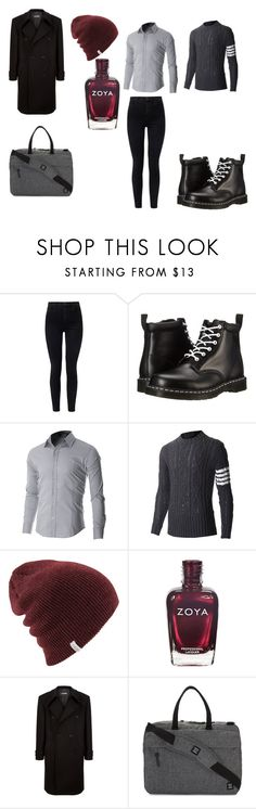 """""""Fedya - First Date, DPIGIG"""" by miloiswriting on Polyvore featuring J Brand, Dr. Martens, Raf Simons, Herschel Supply Co., men's fashion and menswear"""