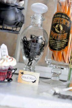 Witches Ball Halloween Party via Kara's Party Ideas Ideas -www.KarasPartyIdeas.com-shop-66