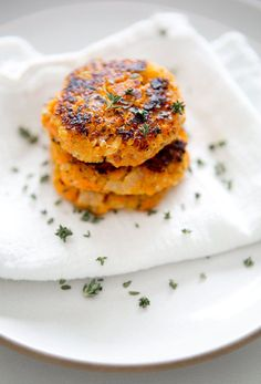 sweet potato quinoa patties – A House in the Hills