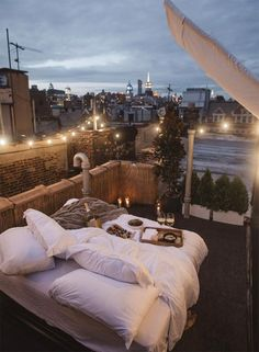 The Coolest Airbnbs in New York City • The Blonde Abroad // Rooftop Twinkle Lights NYC Manhattan, Oasis, Wholesale Home Decor, Cozy Place, Modern Bohemian, Boho, Home Decor Furniture, Online Home Decor Stores, Unique Home Decor