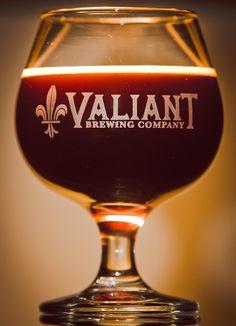Valiant Brewing - Stentorian Barleywine Available Now Beer Bottle Glasses, Beer Bottles, Brewing Company, Raisin, Craft Beer, Brewery, Fun Crafts, Wine Glass, Tableware