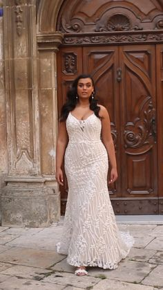 Plus Size Wedding Gowns, Evening Dresses Plus Size, Satin Dresses, Bridal Dresses, Muslimah Wedding Dress, One Day Bridal, Curvy Bride, Latest African Fashion Dresses, Dresses Short