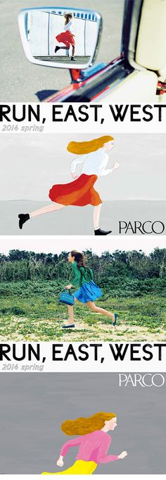 Parco Run, East, West