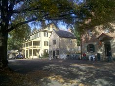 Old Salem in Winston-Salem, NC.