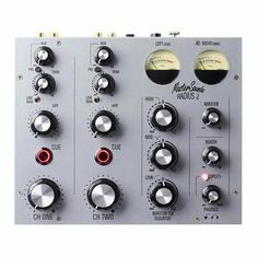 The newly released Master Sounds Radius 2 analogue rotary mixer in silver. 12 months in the making, designed & hand built in conjunction with former Allen & Heath design engineer, Andy Rigby-Jones.
