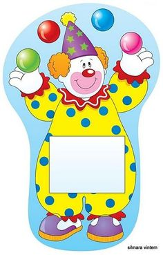 CIRCO - Judy B - Picasa Web Albums Clown Crafts, Circus Crafts, Carnival Crafts, Circus Birthday, Circus Theme, Circus Party, Circus Activities, Activities For Kids, Clown Images