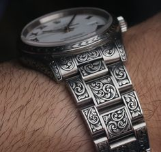 MadeWorn American Hand-Engraved Rolex Watches Hands-On Hands-On