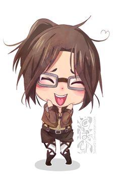 Chibi Hanji! by Tobari21.deviantart.com on @deviantART
