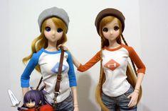 Smart Doll Kizuna Yumeno and Mirai Suenaga by Shizusan23