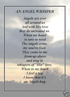 An Angel Whisper♥ My favorite angel Mom ♥ Whispering Angel, I Believe In Angels, Angel Prayers, My Guardian Angel, Angels Among Us, Angels In Heaven, Heavenly Angels, This Is Us Quotes, Angel Art
