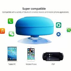 wholesale bluetooth speaker compatible with all bluetooth devices @tristachy http://www.szjoytoy.com/waterproof-portable-shower-bluetooth-speaker-subwoofer-sucker-speaker-p1045604.html #waterproofmusicsubwoofer #waterproofsubwoofer #waterproofspeaker #showerbluetoothspeaker #showerwirelessspeaker #portablewirelessspeaker #portablebluetoothspeaker #portablebluetoothspeakersubwoofer #szjoytoy #joytoy