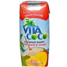 Vita Coco Coconut Water Peach Mango (12x11.2Oz)