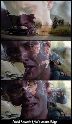 4x10 Heaven and Hell (Part 4) (Click to enlarge) -----Strangely enough this was the first scene I ever watched of Supernatural:) it remains to this day one of my absolute favorite scenes