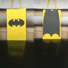 BATMAN Birthday Party (Set of Favors/ Bags/ Goodie/ Goody/ Loot/ Candy/ Treats/ Supplies/ Decorations/ Fiesta/ Gifts Lego Batman Birthday, Lego Batman Party, Minion Party, Superhero Birthday Party, Birthday Party Favors, Boy Birthday, Birthday Parties, Batman Party Favors, Batman Party Decorations
