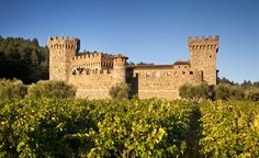 It took 14 years to construct Castello di Amorosa in California's Napa Valley using historically accurate medieval building techniques. (From: Photos: 12 Amazing Castles You Won't Believe Are in America)