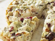 Tarte mit Pute und Cranberries   Zeit: 30 Min.   http://eatsmarter.de/rezepte/tarte-mit-pute-und-cranberries
