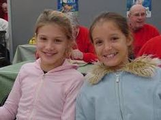 Little Eugenie Bouchard and Laura Robson
