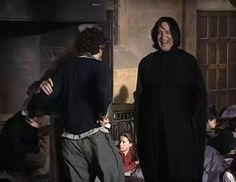 Harry Potter, Severus Snape
