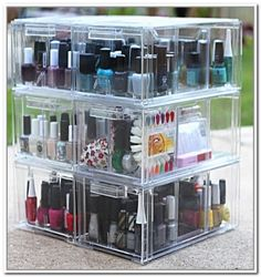 Nail Polish Container Store:  nail polish storage container store