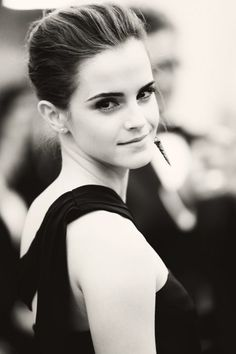 Emma Watson. Is it weird that my hubby and I both have a crush on her?!