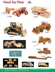 Free Wood Toy Plans