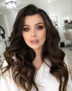 make_up_viktoriya - Women - Cute Makeup Looks, Fancy Makeup, Natural Makeup Looks, Gorgeous Makeup, Simple Wedding Makeup, Wedding Hair And Makeup, Bridal Makeup, Bridal Hair, Hair Makeup