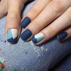 35 Trendy Short Nail Designs You'll LoveIf you like having short nails to longer ones, you're at the proper place. We've put together a very large gallery of nail designs for short nails. for the next time you wish some DIY or skilled salon manicure Cute Nail Art Designs, Winter Nail Designs, Short Nail Designs, Winter Nail Art, Winter Nails, Spring Nails, Winter Art, Winter 2017, Winter Holiday