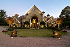 "Million Dollar Homes in Georgia | Grand European-Styled Mansion"" – $3,185,000"