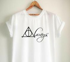 Harry Potter Shirts Harry Potter Merchandise After All This Time Always T Shirts Clothes Apparel Top Tee for Women Girls Men - Fandom Shirts - Ideas of Fandom Shirts - Harry Potter Shirts, Mode Harry Potter, Harry Potter Merchandise, Harry Potter Style, Harry Potter Outfits, Always Harry Potter, Harry Potter Clothing, Harry Potter Fashion, Bijoux Harry Potter