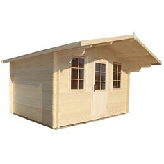 heartland metropolitan lean to engineered wood storage shed common 8