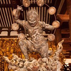 Raijin : Sanjusangendo temple, Kyoto, Japan / Japón | by Lost in Japan, by Miguel Michán