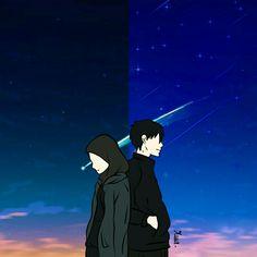 kumpulan anime kartun romantis anyar - my ely Love Cartoon Couple, Cute Love Cartoons, Anime Love Couple, Cover Wattpad, Hijab Drawing, Cute Couple Drawings, Cute Muslim Couples, Islamic Cartoon, Anime Muslim