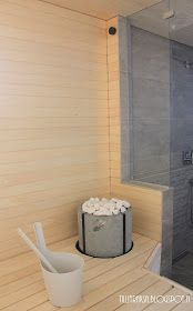 Sauna Design, Finnish Sauna, Spa Rooms, My Dream Home, Saunas, Wood Stoves, House, Archer, Bathrooms