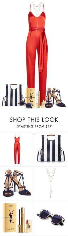 """Untitled #684"" by morellemomo ❤ liked on Polyvore featuring Diane Von Furstenberg, Corto Moltedo, Halston Heritage, SUGARFIX by BaubleBar and Yves Saint Laurent"