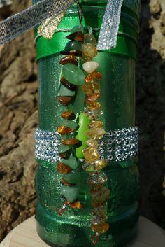 Witch Bottle Prosperity Spell Bottle DIY Kit Money by MorrigusNest
