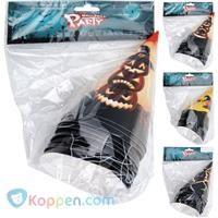 Halloween hoedjes set 10 stuks -  Koppen.com