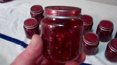 Raspberry Rhubarb Jam! Canned in Baby Food Jars! Want To Know How? WATCH...