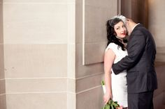 Real City Hall Wedding: Rhianon + Scott in San Francisco // Images by Modern Love Photography // Via Modernly Wed (9)
