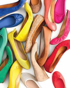 A girl can NEVER have too many pairs of flats...at least that's my philosophy