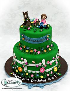 horse birthday cake | ... of the cakes we've done recently! Hope you enjoy these cake photos