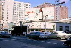 Hody's Restaurant on Hollywood and Vine, 1965