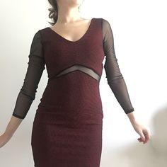 Selling this Charlotte Russe Mesh Bodycon Dress in my Poshmark closet! My username is: katrinamanetta. #shopmycloset #poshmark #fashion #shopping #style #forsale #Charlotte Russe #Dresses & Skirts