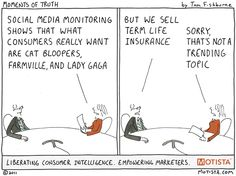 Marketoonist is the thought bubble of Tom Fishburne. Marketing cartoons, content marketing with a sense of humor, keynote speaking. Social Media Humor, Social Media Images, Social Media Tips, Social Networks, Marketing And Advertising, Content Marketing, Internet Marketing, Digital Marketing, What Is Social