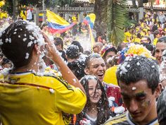 Watching the 2014 World Cup in Parque Lleras (Photos)  20140628-IMG_4638.jpg by rtwdave, via Flickr