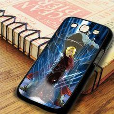 Fullmetal Alchemist Brotherhood Edward And Alphonse Anime Cartoon Samsung Galaxy S3 Case